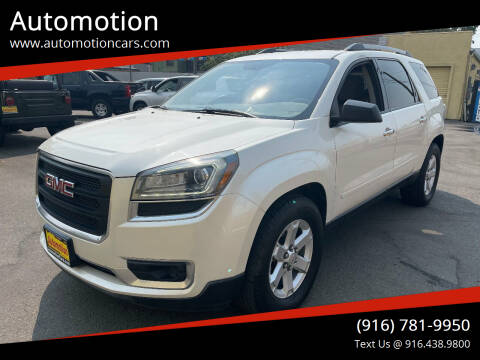 2014 GMC Acadia for sale at Automotion in Roseville CA