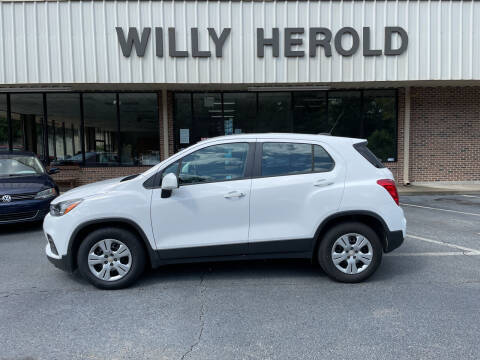 2019 Chevrolet Trax for sale at Willy Herold Automotive in Columbus GA