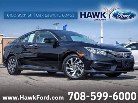 2018 Honda Civic for sale at Hawk Ford of Oak Lawn in Oak Lawn IL