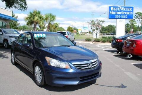2011 Honda Accord for sale at BlueWater MotorSports in Wilmington NC