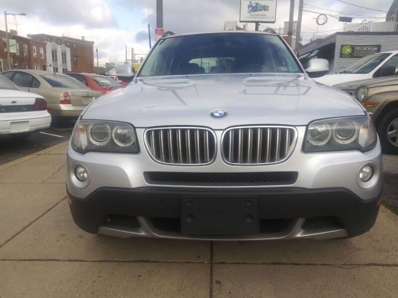 2010 BMW X3 for sale at K J AUTO SALES in Philadelphia PA