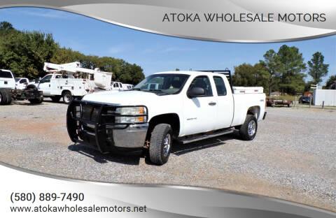 2012 Chevrolet Silverado 2500HD for sale at ATOKA WHOLESALE MOTORS in Atoka OK
