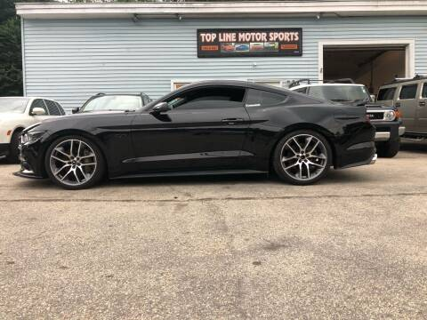 2016 Ford Mustang for sale at Top Line Motorsports in Derry NH