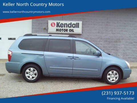 2007 Kia Sedona for sale at Keller North Country Motors in Howard City MI