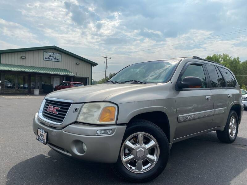 2002 GMC Envoy for sale at Lakes Area Auto Solutions in Baxter MN