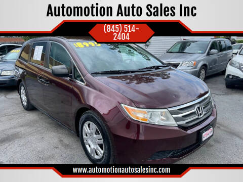 2011 Honda Odyssey for sale at Automotion Auto Sales Inc in Kingston NY