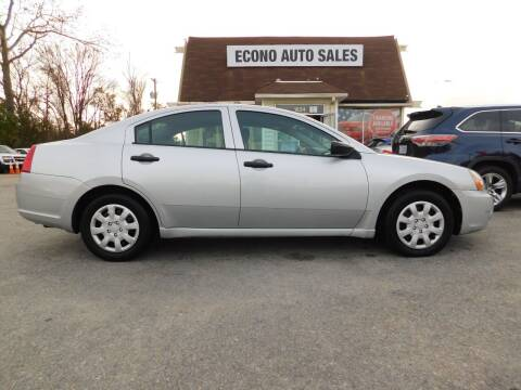 2007 Mitsubishi Galant for sale at Econo Auto Sales Inc in Raleigh NC
