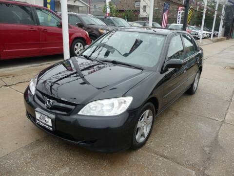 2004 Honda Civic for sale at Car Center in Chicago IL