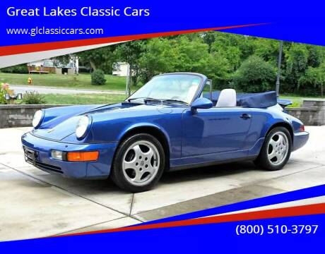 1993 Porsche 911 for sale at Great Lakes Classic Cars & Detail Shop in Hilton NY