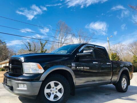 2012 RAM Ram Pickup 1500 for sale at E-Z Auto Finance in Marietta GA