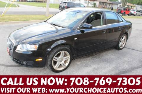 2007 Audi A4 for sale at Your Choice Autos in Posen IL