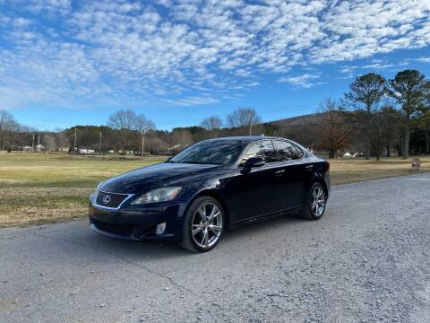 2010 Lexus IS 250 for sale at Tennessee Valley Wholesale Autos LLC in Huntsville AL