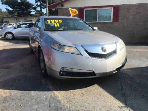 2011 Acura TL for sale at Port City Auto Sales in Baton Rouge LA