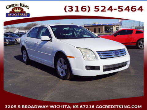 2006 Ford Fusion for sale at Credit King Auto Sales in Wichita KS