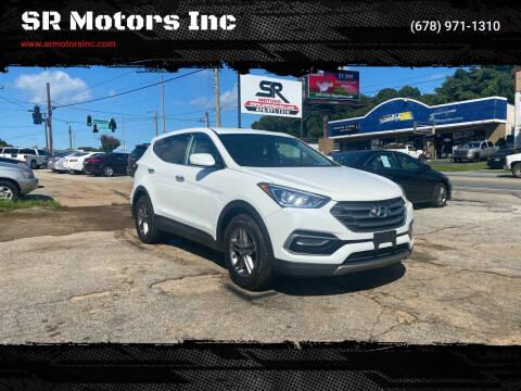2017 Hyundai Santa Fe Sport for sale at SR Motors Inc in Gainesville GA