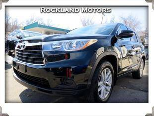2016 Toyota Highlander for sale at Rockland Automall - Rockland Motors in West Nyack NY