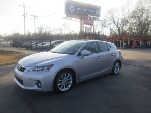 2012 Lexus CT 200h for sale at Car Connection in Little Rock AR