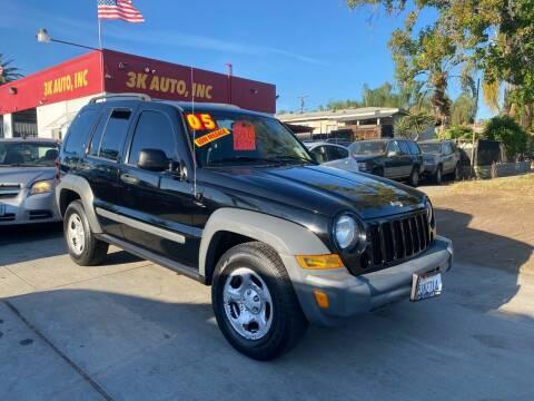 2005 Jeep Liberty for sale at 3K Auto in Escondido CA