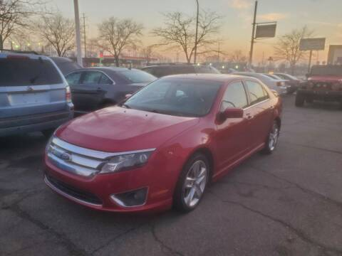 2010 Ford Fusion for sale at J & J Used Cars inc in Wayne MI