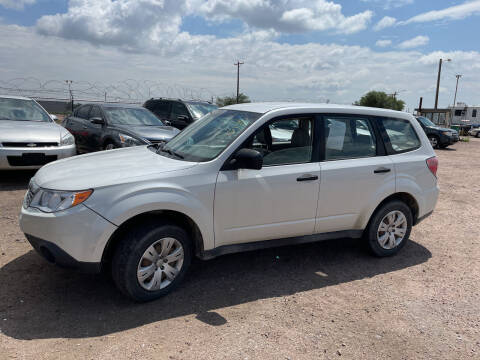 2010 Subaru Forester for sale at PYRAMID MOTORS - Fountain Lot in Fountain CO