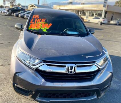 2018 Honda CR-V for sale at Global Auto Group in Fontana CA