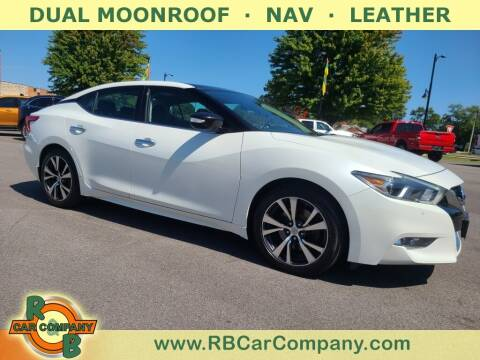 2016 Nissan Maxima for sale at R & B Car Company in South Bend IN