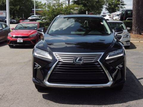 2018 Lexus RX 350L for sale at Auto Finance of Raleigh in Raleigh NC