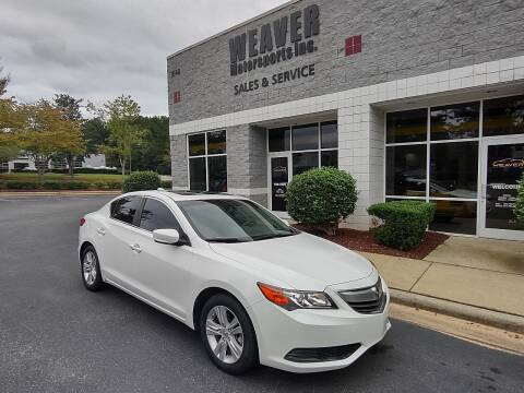 2013 Acura ILX for sale at Weaver Motorsports Inc in Cary NC