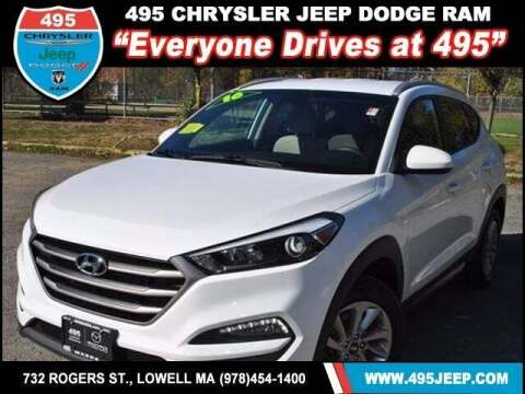 2016 Hyundai Tucson for sale at 495 Chrysler Jeep Dodge Ram in Lowell MA