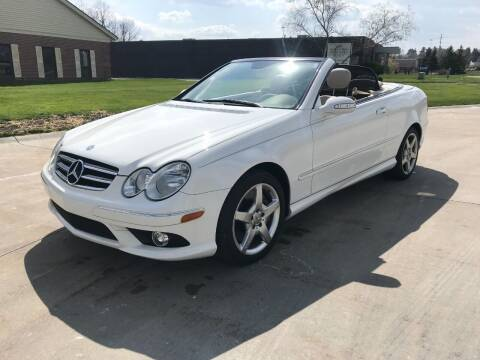 2006 Mercedes-Benz CLK for sale at Renaissance Auto Network in Warrensville Heights OH