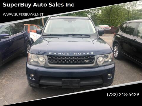2011 Land Rover Range Rover Sport for sale at SuperBuy Auto Sales Inc in Avenel NJ