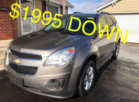 2011 Chevrolet Equinox for sale at Cooks Motors in Westampton NJ