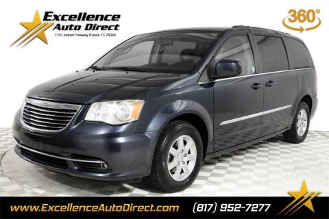 2013 Chrysler Town and Country for sale at Excellence Auto Direct in Euless TX
