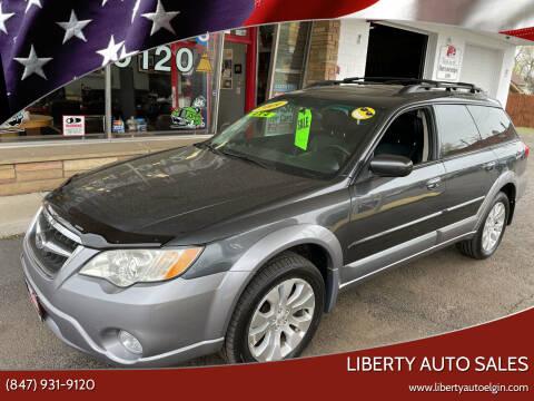 2009 Subaru Outback for sale at Liberty Auto Sales in Elgin IL