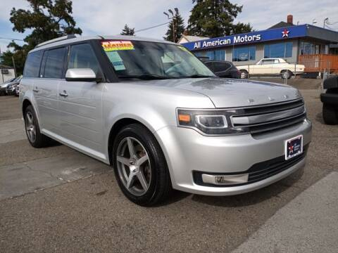 2016 Ford Flex for sale at All American Motors in Tacoma WA