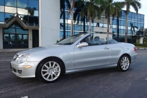 2007 Mercedes-Benz CLK for sale at SR Motorsport in Pompano Beach FL