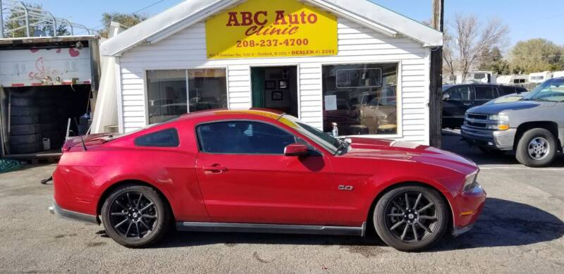 2012 Ford Mustang for sale at ABC AUTO CLINIC - Chubbuck in Chubbuck ID