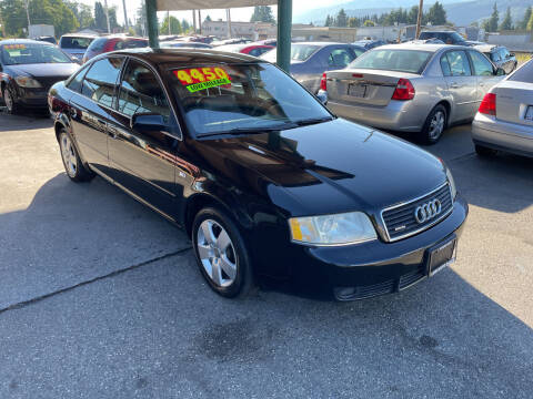 2002 Audi A6 for sale at Low Auto Sales in Sedro Woolley WA
