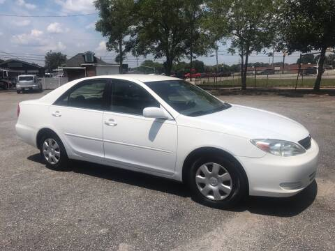 2003 Toyota Camry for sale at Cherry Motors in Greenville SC