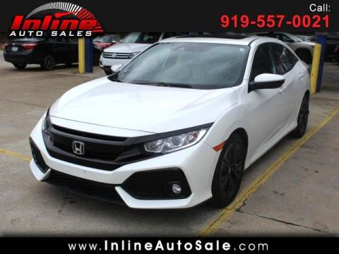 2017 Honda Civic for sale at Inline Auto Sales in Fuquay Varina NC