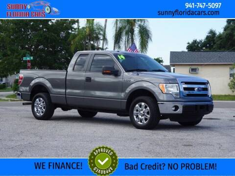 2014 Ford F-150 for sale at Sunny Florida Cars in Bradenton FL