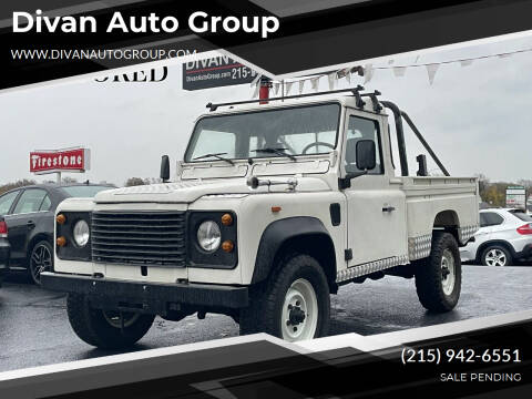 1990 Land Rover Defender for sale at Divan Auto Group in Feasterville PA