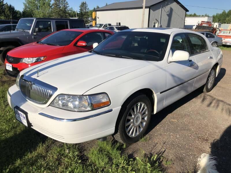2003 Lincoln Town Car for sale at Al's Auto Inc. in Bruce Crossing MI