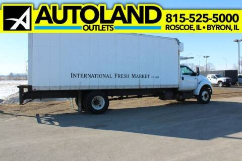 2015 Ford F-750 Super Duty for sale at AutoLand Outlets Inc in Roscoe IL