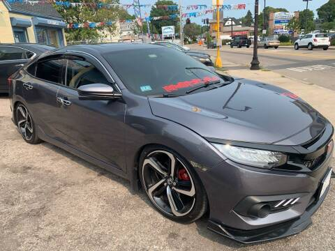 2016 Honda Civic for sale at Polonia Auto Sales and Service in Hyde Park MA