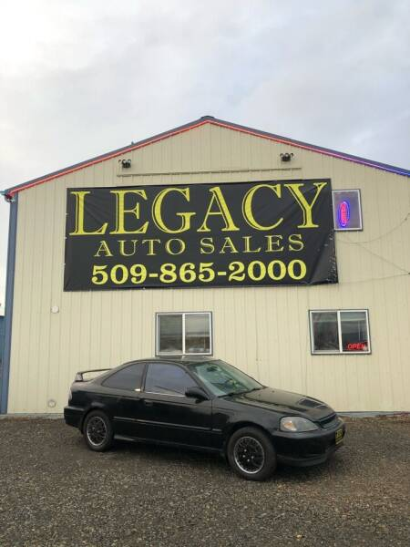 2000 Honda Civic for sale at Legacy Auto Sales in Toppenish WA