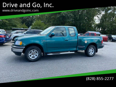 1997 Ford F-150 for sale at Drive and Go, Inc. in Hickory NC