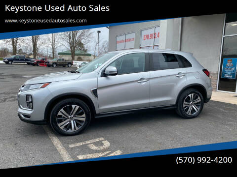 2020 Mitsubishi Outlander Sport for sale at Keystone Used Auto Sales in Brodheadsville PA