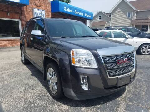 2015 GMC Terrain for sale at BELLEFONTAINE MOTOR SALES in Bellefontaine OH