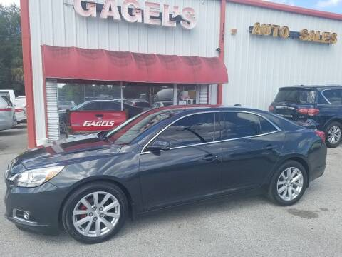 2014 Chevrolet Malibu for sale at Gagel's Auto Sales in Gibsonton FL